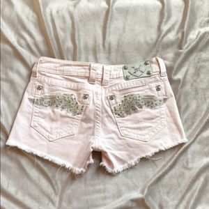 Miss Me Pink Shorts